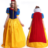 New Arrival 2018 Halloween Snow White Dress COSPLAY Ballet Movie Adult DS Female Costume Female Girls Women Clothes