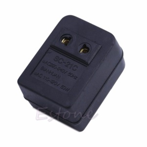 Image 3 - 220 240V to 110 120V 50W Power Adapter Converter Voltage Transformer for Travel S927