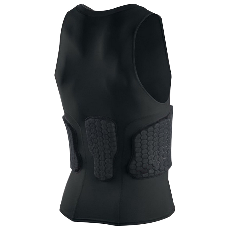 Beautiful Basketball Sports Pro Anti-collision Cellular Fast-fitting Fast-drying Fitness Anti-collision Basketball Tight-fitting Vest Elegant In Smell