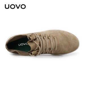 Image 5 - حذاء رجالي حذاء كاجوال تصميم جديد طارد المياه حقيقية أحذية من الجلد خفيفة الوزن دائم أحذية بنعل مطاطي الرجال Eur #40 44