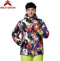 WildSnow Women Fashion Winter Coat Ski Jacket Men Snowboard Jackets Ski Clothing Snow Clothes Mountain Skiing