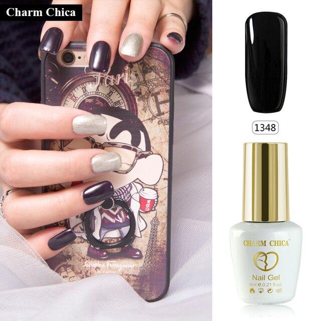 155 Hot Colors Pick Charm Chica Soak Off Uv Gel Nail Polish Cured 6ml Led L