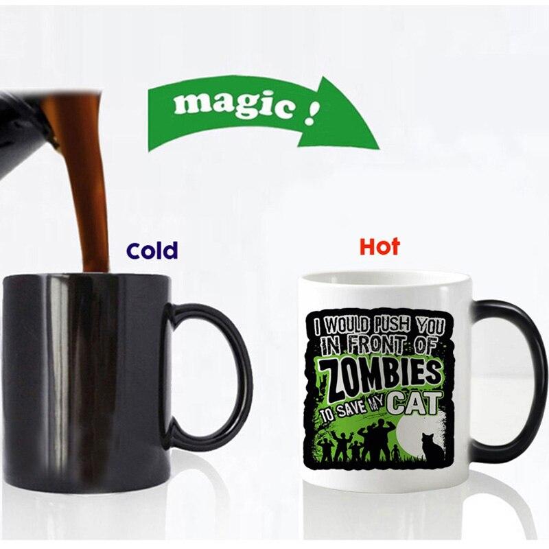 zombies to save my cat magic mug