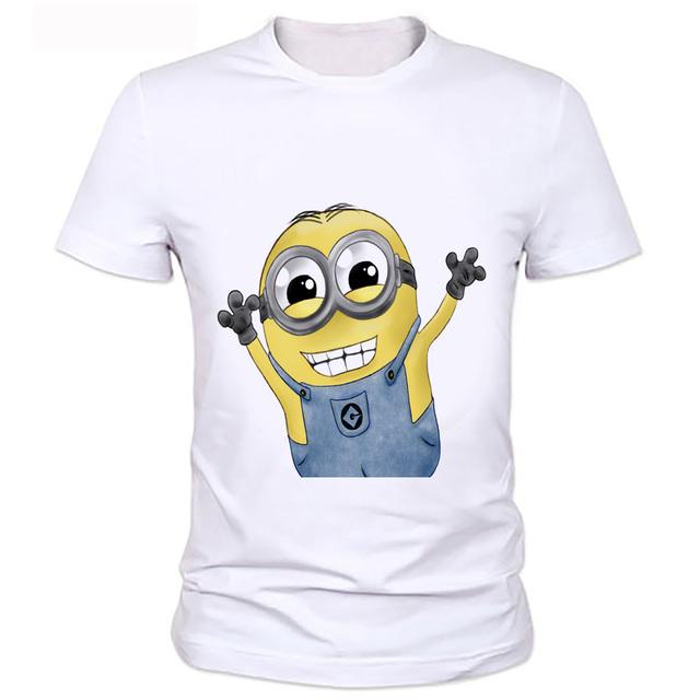 Casual Unisex 3D Harajuku Minions Tshirts