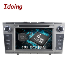 Idoing Android8.0 4G+32G 8Core 7″2Din IPS Screen Steering-Wheel For Toyota Avensis 2007-2014 Car GPS Multimedia Player Fast Boot