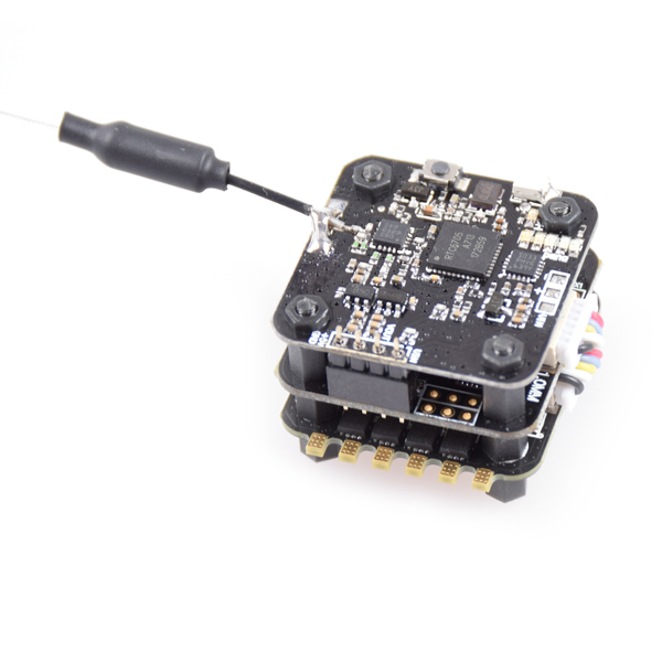JMT FSD-20 F3V1.0 Mini Tower Racing F3 Flight Controller ESC with 40CH VTX OSD 25mw/200mw Switchable for FPV DIY RC Racer Drone jmt 5 8g fpv transmission integrated osd 2020mm innova adjustable 25mw 200mw vtx output for piko blx flight controller f19761