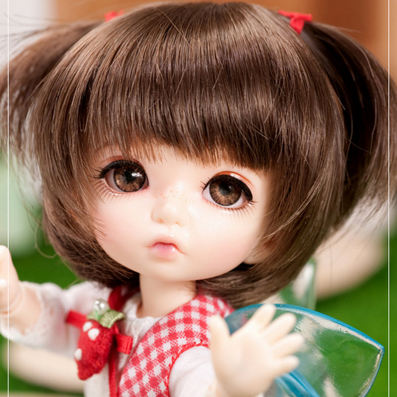 Pukifee Bonnie BJD Doll 1 8 Adorable BodyToys for Girls Toy Girl Mini Baby Jointed Dolls