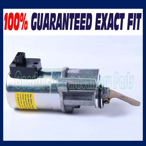 For Deutz 1012 Fuel Shutdown Solenoid Valve 0419 9901 / 04199901 24V fuel shutdown solenoid 1823723c91 sa 4338 24 for cummins navistar 24v