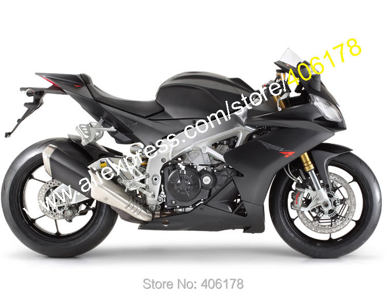 Hot Sales,For Aprilia RSV4 1000 2009 2010 2011 2012 2013 2014 2015 RS V4 Matte Black Bodyworks Fairing Kit (Injection molding) for land rover lr4 discovery 4 trunk security shield cargo cover shade black 2010 2011 2012 2013 2014 2015
