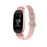 Fshion Women Smart Band S3 Sport Wristband Heart Rate Monitor IP67 Waterproof Bluetooth Smartband Bracelet Belt
