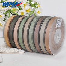 Commercio All'ingrosso Del Nastro Del Grosgrain YAMA 6 9 13 16 19 22mm 100 yards/lotto di Colore Marrone Scuro per Vestito Fai Da Te accessori Casa Decorazione di Cerimonia Nuziale(China)