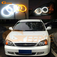 For Chevrolet Chevy Epica Magnus 2000 2005 Excellent Ultrabright Dual Color Switchback Smd LED Angel Eyes