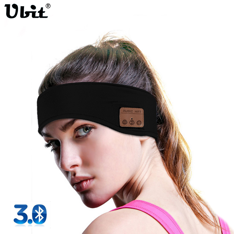 Ubit Men Women Sports Stereo Magic Music Headband Earphone Phone Hands-free Calls Wireless Bluetooth Headphone Smart Earphones smallest music phone calls hands free stereo bluetooth mini earphone headset for iphone 7 6 6 plus 5s 5c galaxy s5 note 3 4