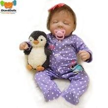 Otarddolls 50 см реалистичные куклы для новорожденных мягкие