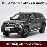 1:18 advanced сплава модели автомобилей, высокая моделирования kodiaq внедорожник модель, металл литья под давлением, детская игрушка, бесплатная до