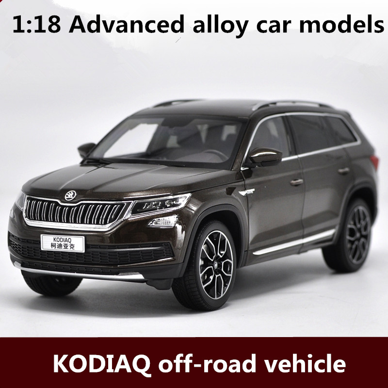 все цены на 1:18 Advanced alloy car models,high simulation KODIAQ off-road vehicle model,metal diecast,children's toy vehicles,free shipping онлайн