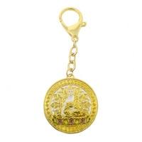 Feng Shui Vairocanana Buddha Pendant W Red String Bracelet W3693