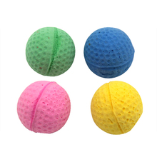 Westrice Cat Pet Toy 4cm Soft Latex Ball Super Q Colorful Cute Funny Elastic Small Dog Toys 100