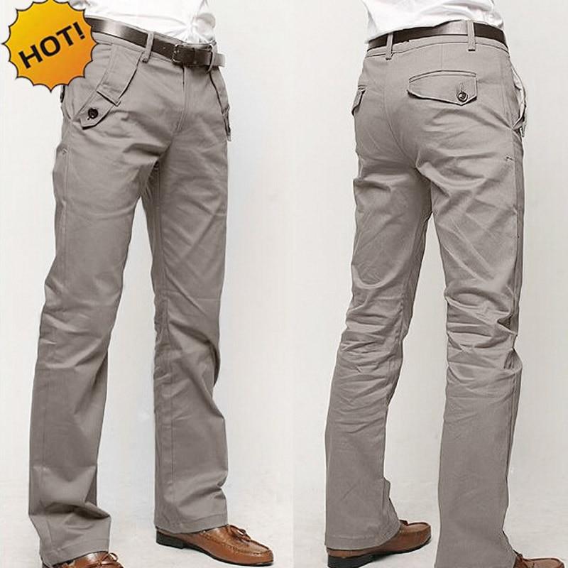 Popular Grey Khaki Pants Men-Buy Cheap Grey Khaki Pants Men lots ...