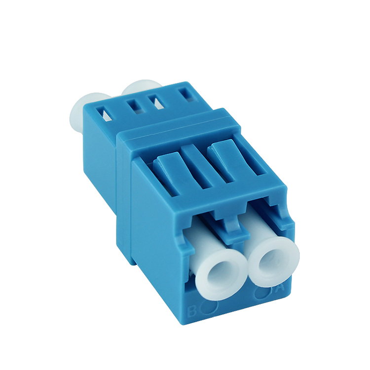 50pcs LC-Duplex-Hight/Low Type Blue / Adapter