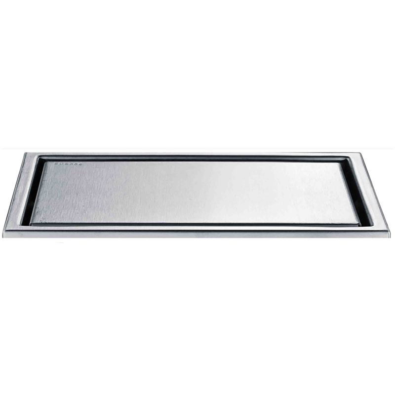 купить Retail 304 Stainless Steel Ontemporary Brushed Nickle 300*110*30mm Bathroom Shower Floor Drain Filler Waste Deodorization Drain недорого