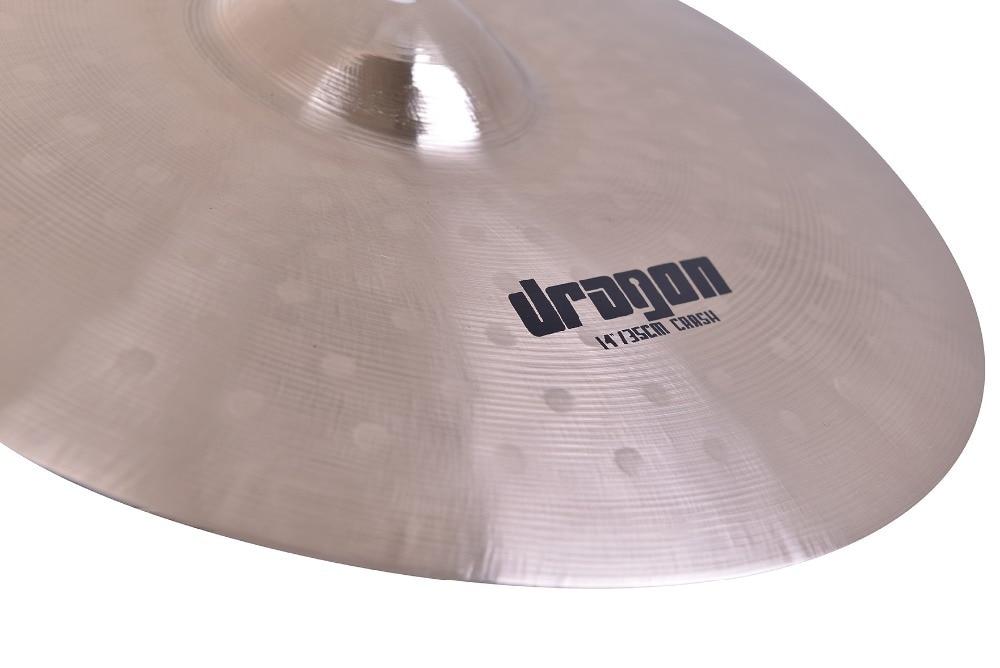 Dragon 15'' crash cymbal for drum set hand made professional cymbal dragon 16 crash b20 cymbal for sale