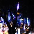 8pcs/set 30cm Christmas Lights Outdoor Meteor Shower Rain Tubes LED Christmas Tree Wedding Decoration Christmas Lights Outdoor