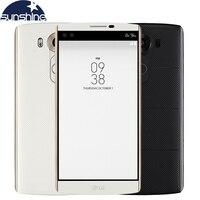 המקורי LG V10 Hexa Core הטלפון סלולרי 4 GB זיכרון RAM 64 GB ROM 5.7 ''16.0MP 2560*1440 LTE 4 גרם Smartphone 2900 mAh סוללה