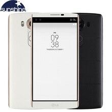 "Original LG V10 Hexa Core Mobile Phone 4GB RAM 64GB ROM 5.7"" 16.0MP 2560*1440 LTE 4G Smartphone 2900mAh Battery"