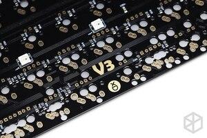 Image 4 - Xd60 xd64 3,0 PCB Custom Mechanische Tastatur Kit underglow RGB GH60 60% programmierbare mx alps stamm split spacebar typ c