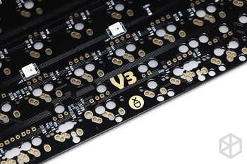 xd60 xd64 3 0 PCB Custom Mechanical Keyboard Kit underglow RGB GH60