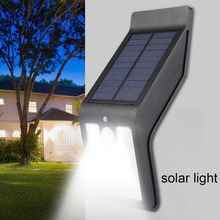 Outdoor Solar Lamp LED Wall Light Waterproof PIR Motion Sensor Lighting Night Garden Lights Solar Powered Lamps Security Light недорого