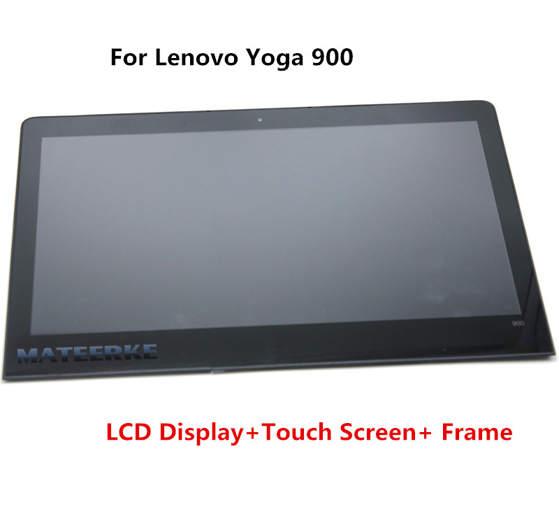 For Lenovo Yoga 4 pro Yoga900 Yoga 900 13.3 Touch Lcd Screen Digitizer Assembly 3200*1800 WITH FRAME for lenovo vibe x2 pro lcd display touch screen panel with frame digitizer accessories for lenovo vibe x2 pro x2pt5 5 3 phone