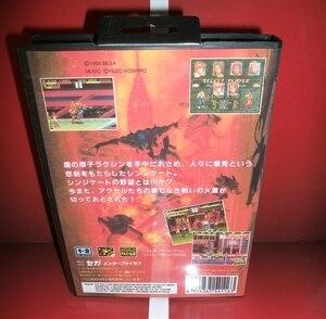 Image 2 - Bare מפרק 3   MD משחק מחסנית יפן כיסוי עם תיבה ידנית עבור Sega Megadrive בראשית וידאו קונסולת משחקים 16 קצת MD כרטיס
