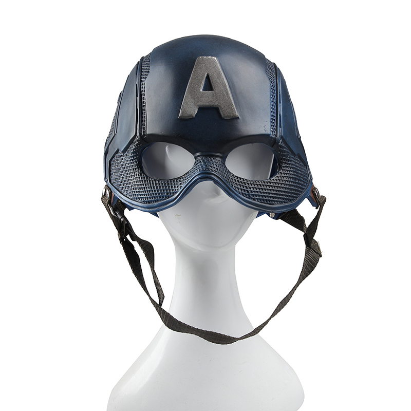 Captain America Helmet/ hat for Adult Steve Rogers Uniform Cosplay Costume for man from manles head size from 53cm to 60cm new marvel the avengers age of ultron captain america cosplay costume steve rogers outfits adult superhero costume