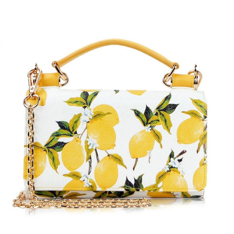 baobao-bag-female-handbag-spring-and-summer-new-fashion-lemon-clutch-leather-print-phone-bag-messenger-chain-bag