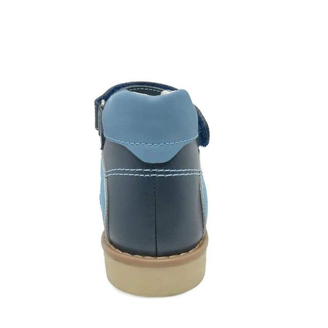 1be2a339dddfdb 2019 del cuoio genuino scarpe per bambini sandali per il ragazzo bambini  ortopedici calzature del bambino
