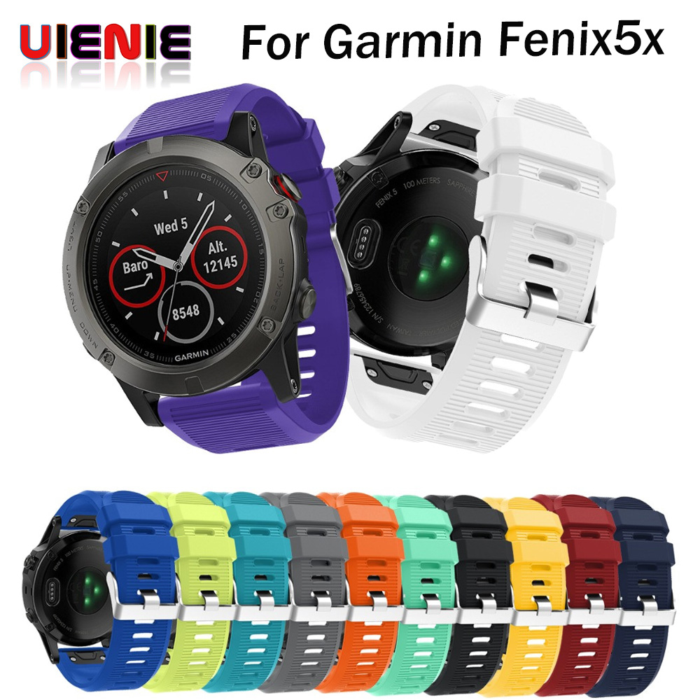 Silicone Quick Release Kit For Garmin Fenix 5X / Garmin Fenix 3 GPS Watch Fitness Replacement For Smart bracelet smartband gps навигатор garmin fenix