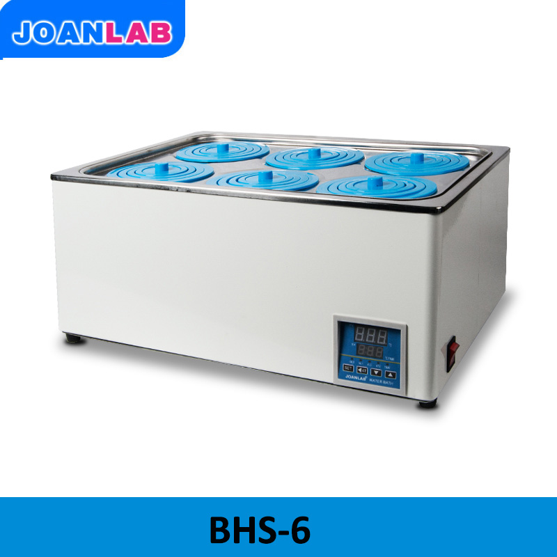 JOANLAB Laboratory Digital Display Thermostat Water Bath 6-holes Bath Pot