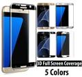 SM-G935F/SM-G930F 9 H Dureza 3D Cobertura Completa de Vidrio Templado Borde Protector de pantalla Para Samsung Galaxy S7/S7 Vidrio película