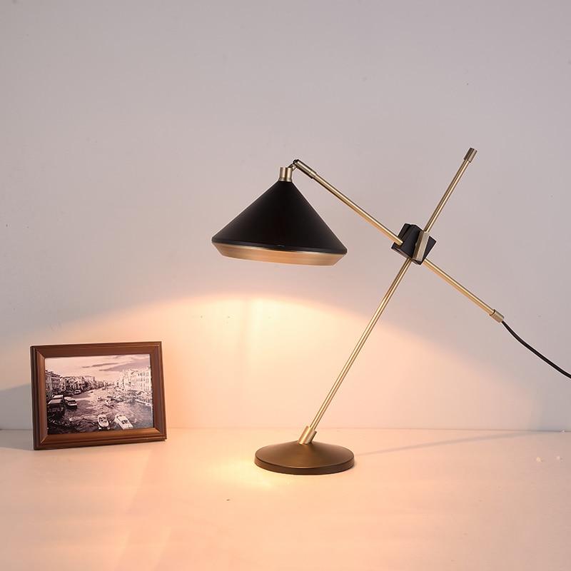Modern LED Table Lamp Desk Lamp Light Shade Glass Ball