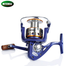 Mitchell AVOCET 4000 5000 6000 9+1BB 5.2:1 Carp Reel spinning fishing reel full Metal Line Cap with Grapphite Spool Tackle