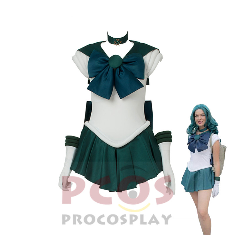 ProCosplay Sailor Moon Cosplay Costume sailor moon Sailor Neptune cosplay free shipping costume for women 000515