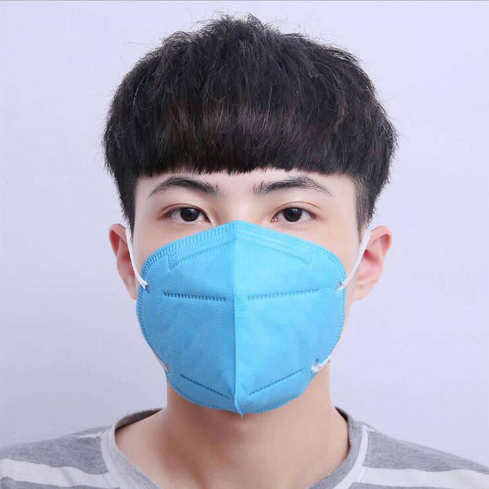 10pcs/set Disposable Respirator Non-woven Cloth Dust-proof Mask Fashion Non-woven Dust Mask