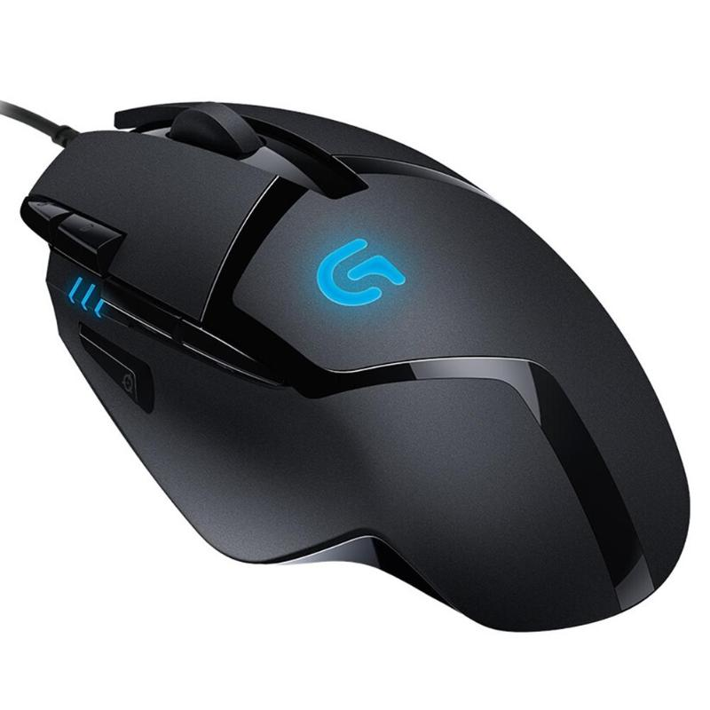 Logitech G402 Hyperion Fury FPS Gaming Mouse 4000 DPI 8 Button Both Hands Wired Optical Gaming Mouse Mice for PC Notebook image