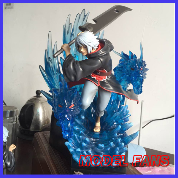 цены MODEL FANS presale NARUTO 33cm Hohzuki Suigetsu GK resin statue figure for Collection Handicrafts