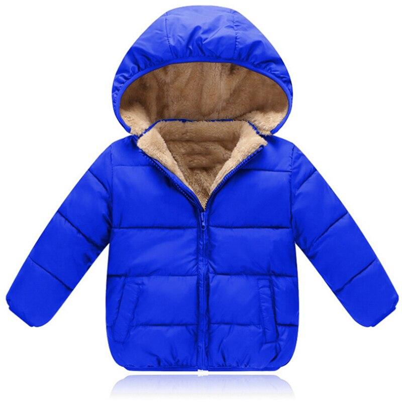Thick Warm Berber Fleece Coats Baby Boys Girls Winter