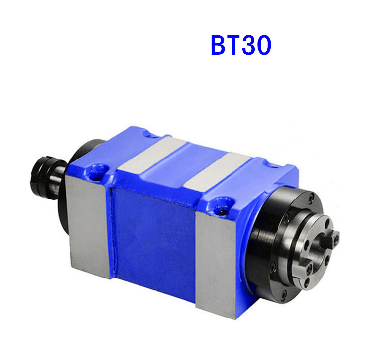 machine tool spindle BT30 Spindle belt CNC milling cheap gantry machine spindle boring Heavy cutting force low speed 3000rpm bt30 er16 60 tool holder for cnc router spindle motor and milling lathe tool boring end mill