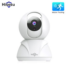 Hiseeu Baby Monitor Camera Audio-Record Surveillance Smart-Wifi Mini Home-Security 1080P