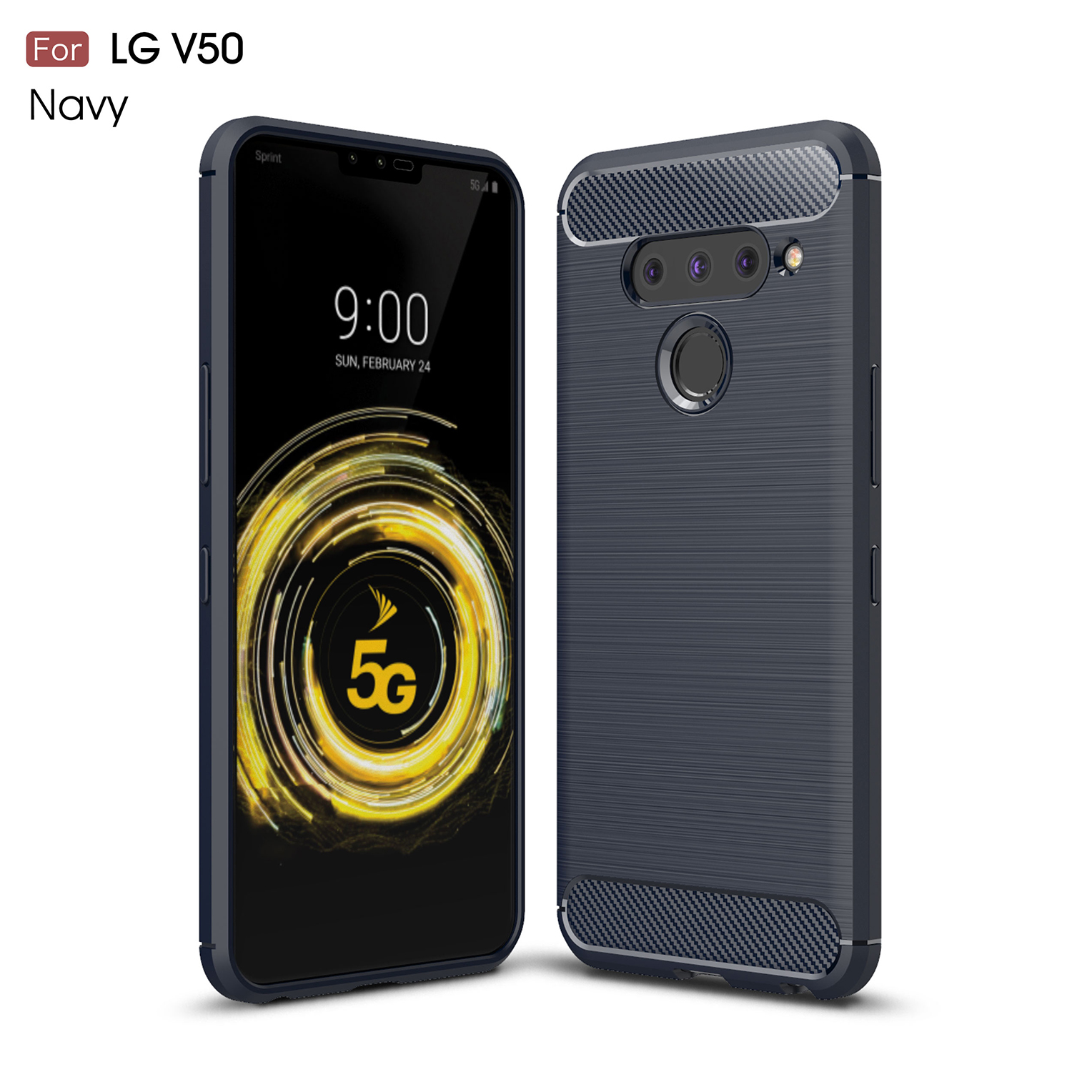 LG V50 ThinQ V500XM Cases For 6.4 Case Silicone 5G V500N Cover Smartphone